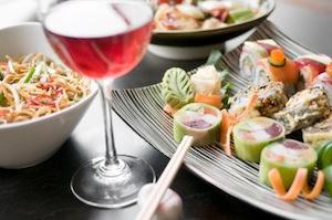 Сочетание розового вина с едой